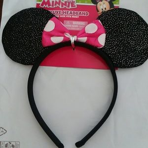 Minnie deluxe headband 3+ yrs. OSFM
